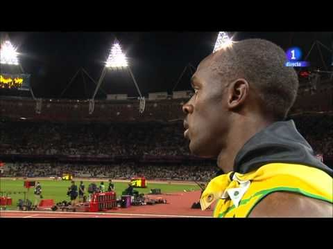Jamaican Athlete Usain Bolt Stops Interview To Pay Respect For USA National Anthem - ConservativeVideos.com