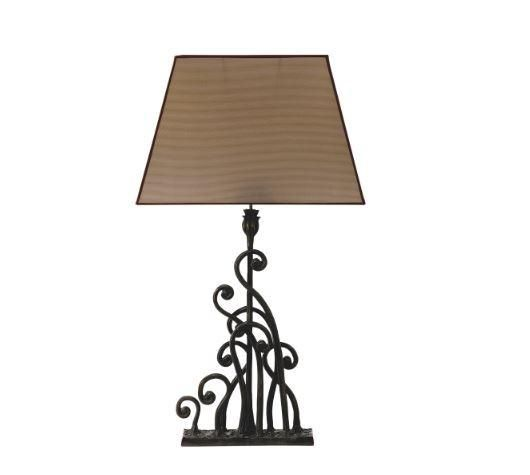 A stunning statement Lamp. This lamp ould look great on a console table #tablelamp