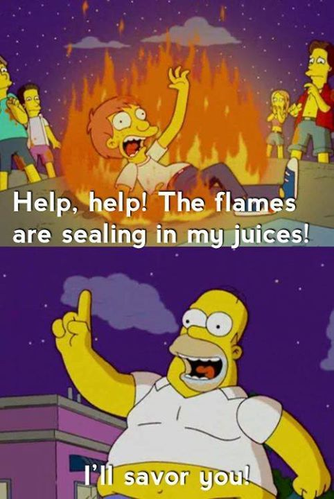 Let Homer be your savor!