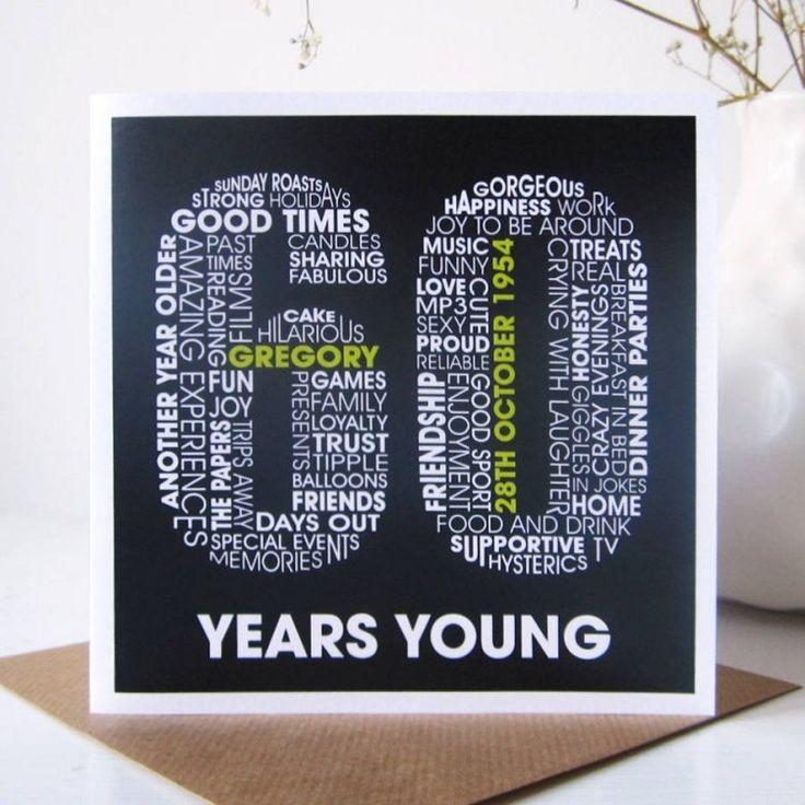 idée d'invitation anniversaire 60 ans originale et drôle