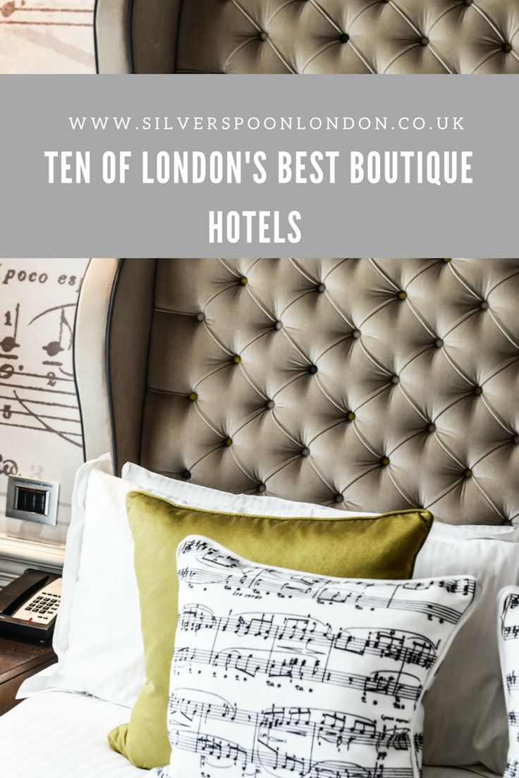 My Top Ten London boutique hotels by luxury lifestyle, food and travel blogger Angie Silver, also part of the travel link up.