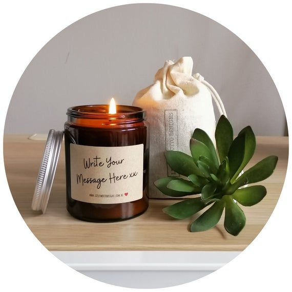 Bob Marley Natural Beeswax Candle Home Decor Gifts Birthday Gift Light The Darkness Custom Candle Label