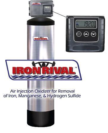 Iron rival iron filter