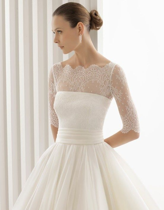 17 Best images about Wedding Dresses on Pinterest | Lace, Sleeve ...