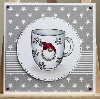 """Gummiapan : Julkort med """"vanliga"""" stämplar - Christmas card with """"ordinary"""" stamps."""