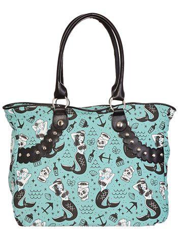 Cute to use for a diaper bag! Mermaids & Sailors Tote Bag