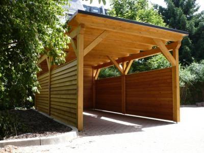 Kup teraz na allegro.pl za 4 690,00 zł - Wiata garażowa drewniana. Carport z drewna. Garaż. (5612815560). Allegro.pl - Radość zakupów i 100% bezpieczeństwa dla każdej transakcji!