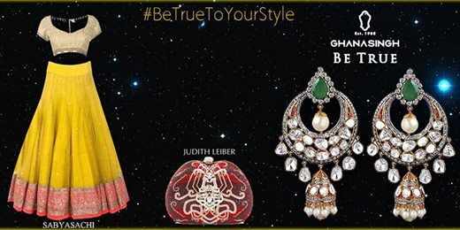 #BeTrueToYourStyle: Here is a styling trick to how to put together a chic but trendy outfit teamed with perfect #jewellery! #FashionTrends #Matchup