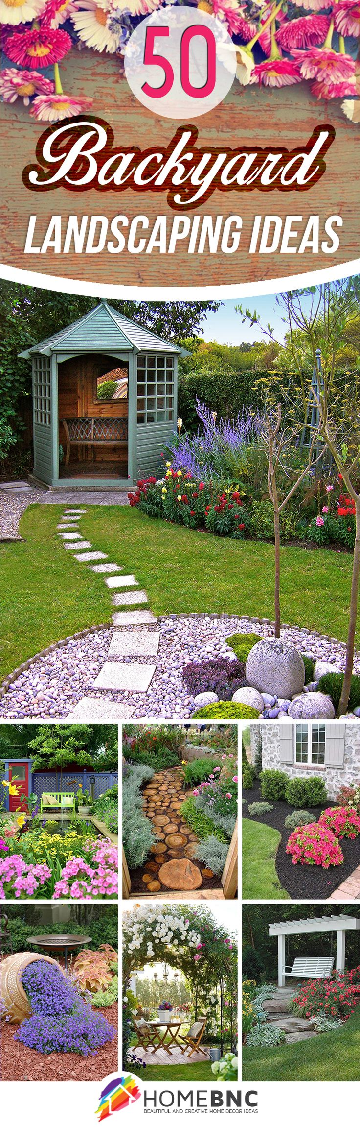 Funky backyard garden ideas - 50 Backyard Landscaping Ideas That Will Make You Feel At Home