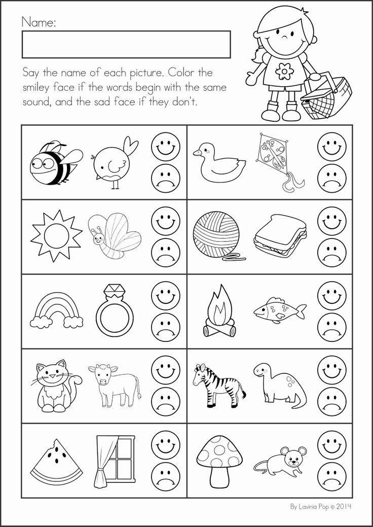 Summer Review Kindergarten Math & Literacy Worksheets