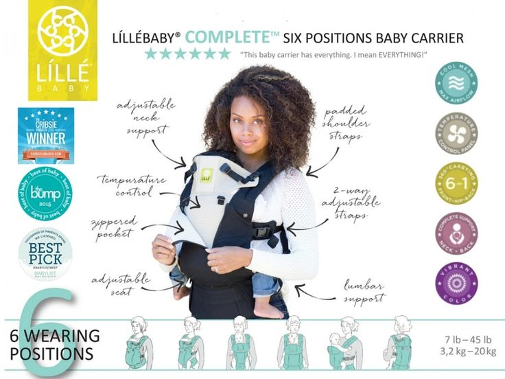 My absolutely favorite favorite favorite carrier! We have the citrus embossed & the teal space place all seasons!  I love the lumbar support!  I love how I can carry forward facing out, in, on the hip and back carry! Thanks lillebaby