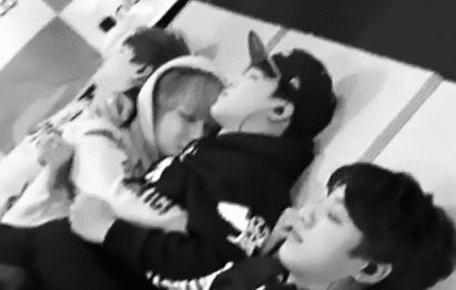 bts VMin~ is there anything more adorable than these two snuggling? ????