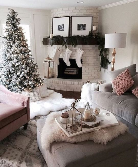 40 Tumblr Christmas Decorations Living Room Living Room Decor Cozy Christmas Living Rooms