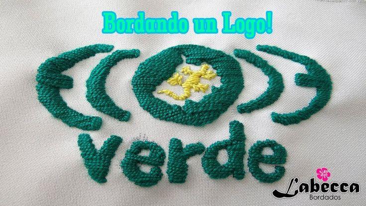 STOP MOTION | Bordando un Logo Animado by Labecca | 스톱모션