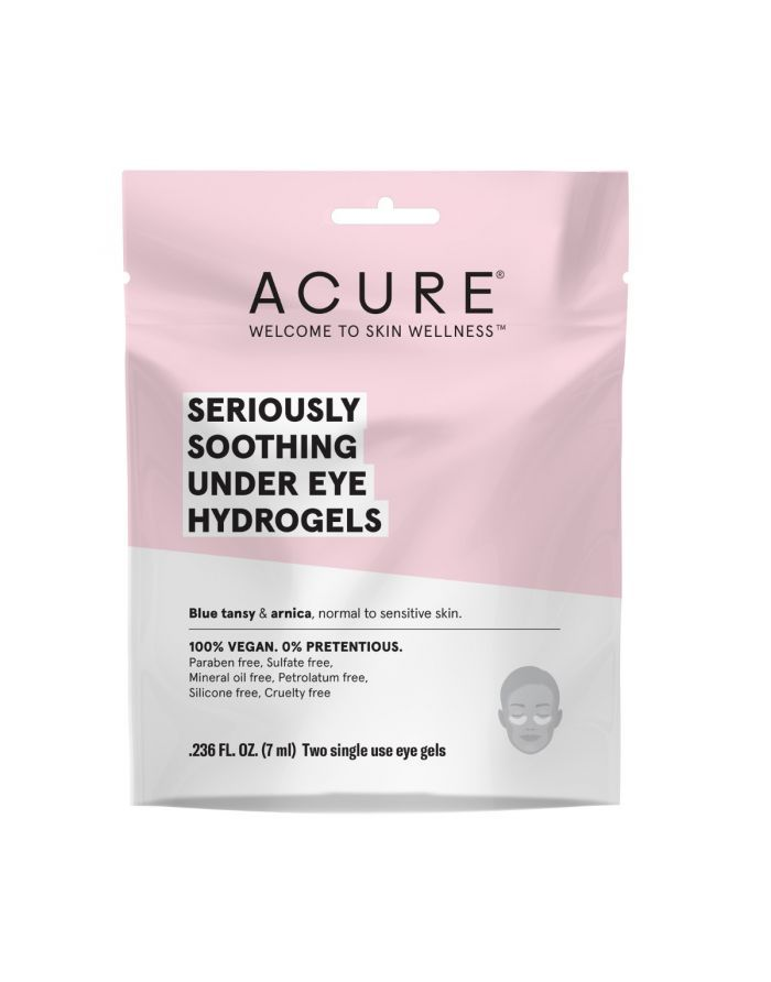 Seriously Soothing Under Eye Hydrogels Gel Mask Paraben Free Products Undereye