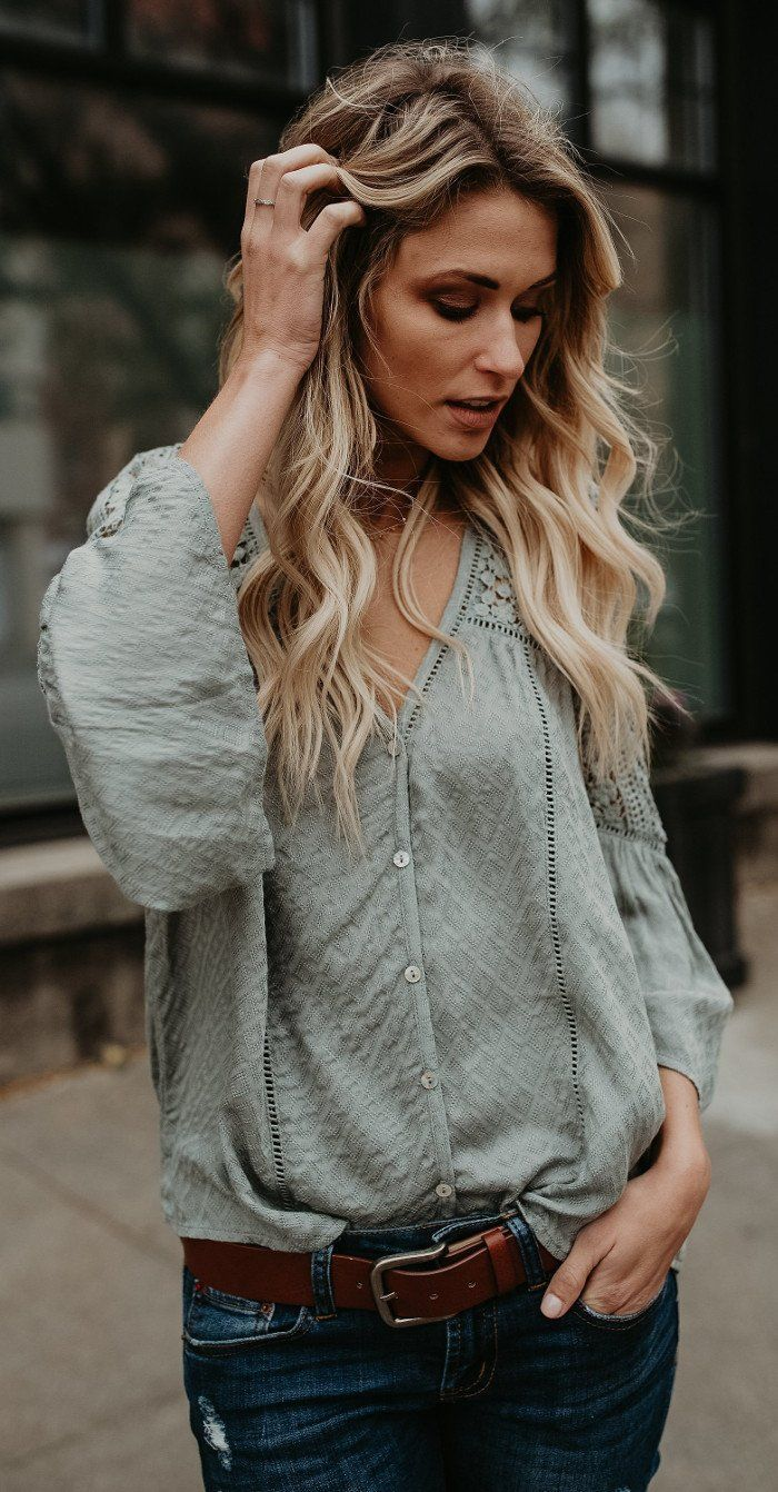 the blouse to die for olive green shade 1