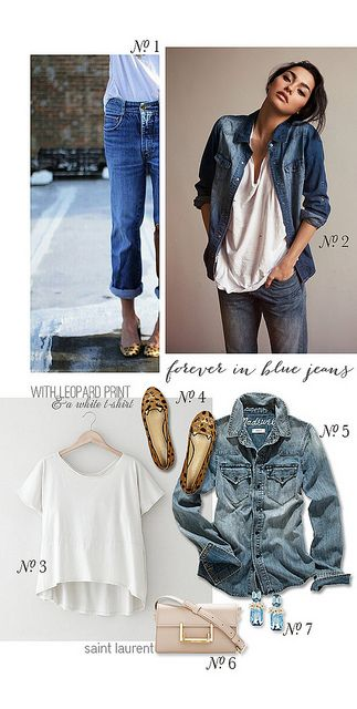 Style inspiration chic in chambray with a white for Cuisine you chambray