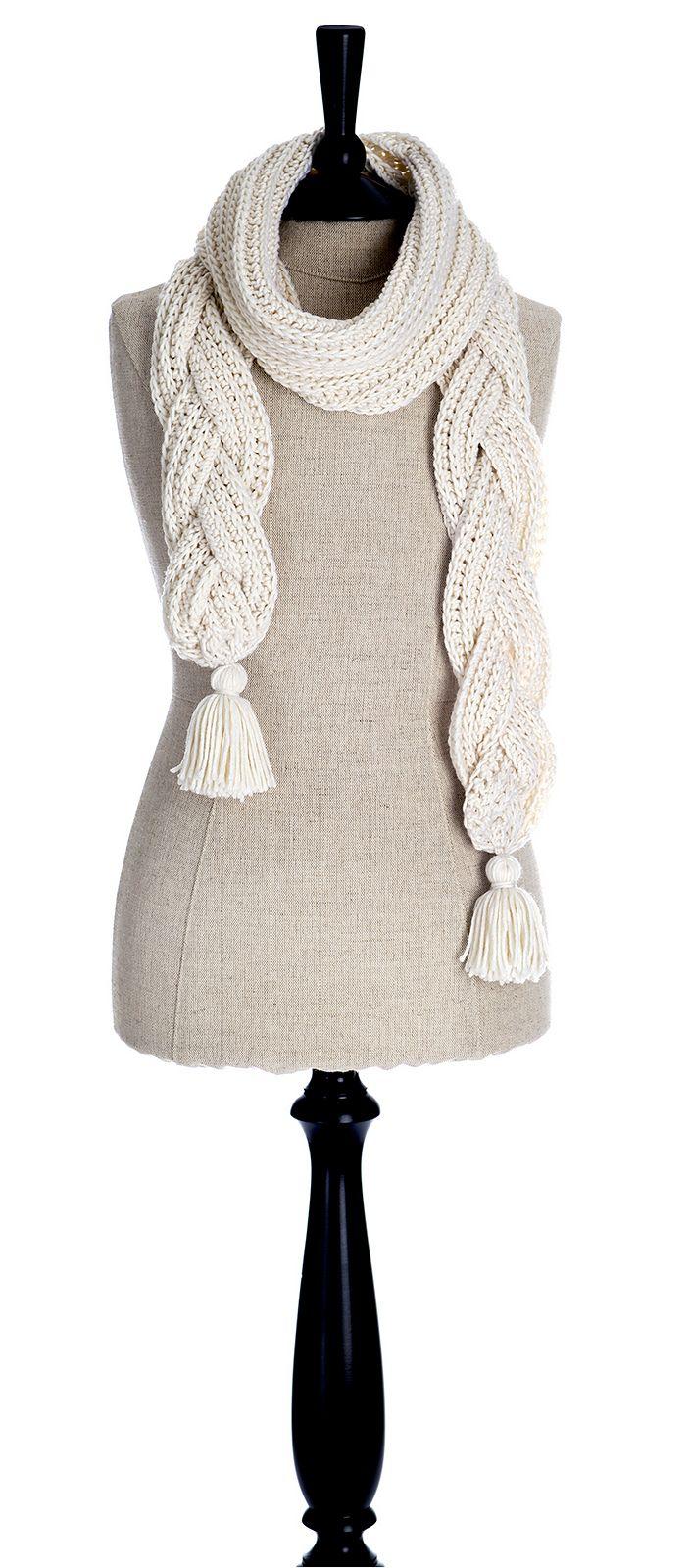 Ravelry: Crochet à la Brioche Scarf by Alla Koval