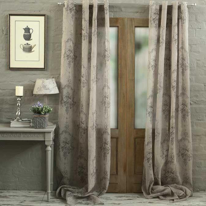 Biggie Best - Antique Voile Curtain Panel