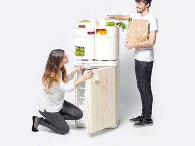 Clever refrigerator uses waste heat, clay to preserve veggies (Video)