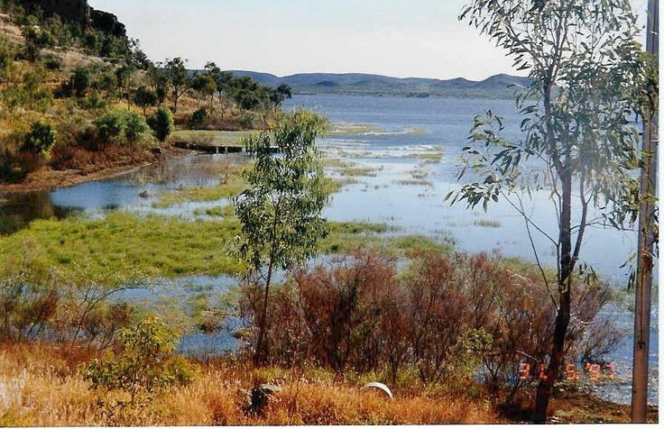 Lake Moondarra at Mount Isa
