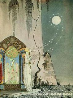 太陽の東 月の西(カイ・ニールセン挿絵) いわゆる「見てはならぬ」譚に分類されるお話です。