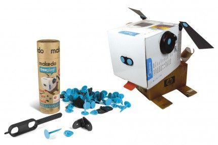 Persbericht: Recycle dozen en verpakkingen met nieuw constructie-speelgoed