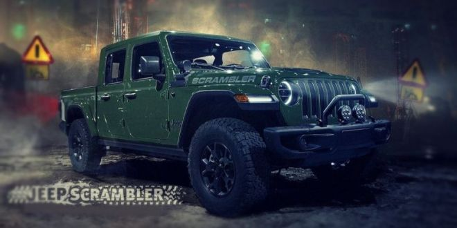 2020 Jeep Scrambler Rendering News With Images Jeep Scrambler