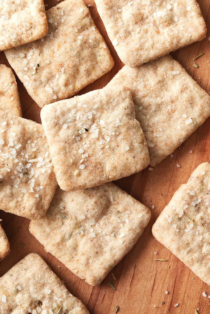 Sourdough Crackers Recipe (uses the discard)