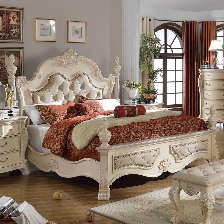 Meridian Monaco Antique White King Bed  5 Boxes    Monaco K  Furniture  UsaBedroom SetsBedroom DecorMaster. Best 25  Traditional bedroom decor ideas on Pinterest