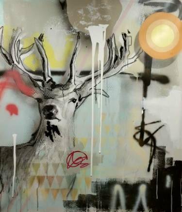 "Saatchi Art Artist Jérôme Rochette; Painting, ""Out of the Ravage, Composition"" #art"