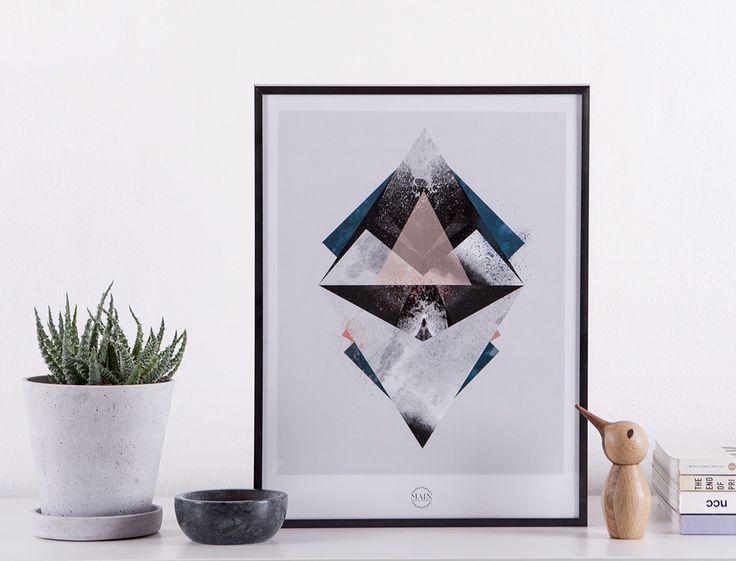 Graphic print #art #design #scandinavian #graphic #interioer #living Maingraphicartwork.bigcartel