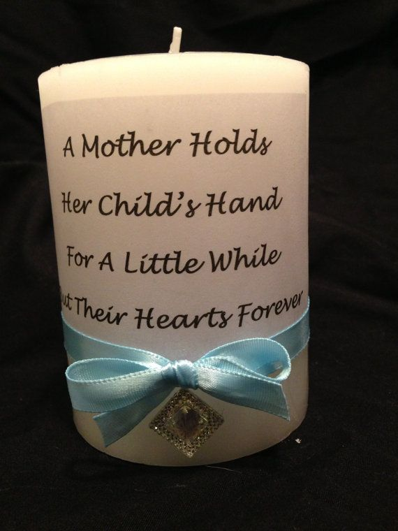Quote Candle Mother's Day Gift Baby Shower by ...