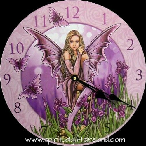 Instantly transform your room with Fairy Magic with this stunning Lisa Parker designed wall clock.  Gift boxed.  Battery operated (not included)  Size 30cm. MDF material.  Follow Spiritual Gifts Ireland on www.facebook.com/spiritualgiftsireland www.instagram.com/spiritualgiftsireland www.etsy.com/shop/spiritualgiftireland We are also featured on Tumblr