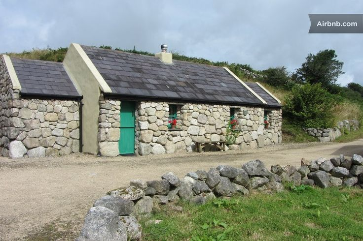 Cottage in Galway, Ireland. This one-bedroom cottage has distinct character & includes dining/living room, hand-crafted kitchen with modern conveniences, and a kingsize bed.  Cnoc Suain hill-village has won numerous national and international awards, including a Travel + Lei...