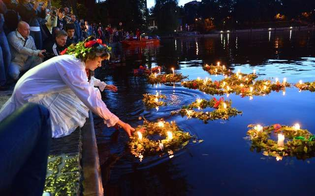 Midsummer Festival in Poland (mid-June to celebrate the summer solstice)