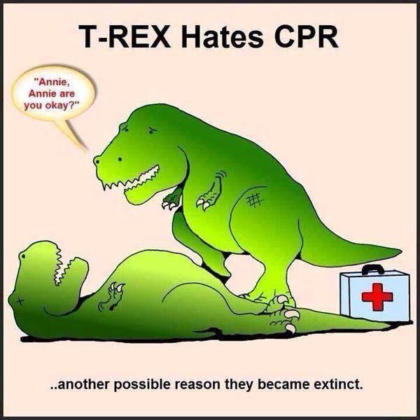 T-Rex hates CPR