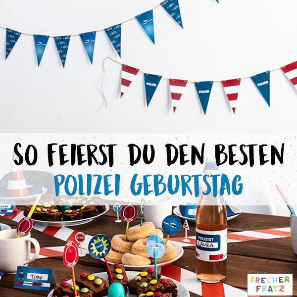 Pin Auf Polizei Geburtstag