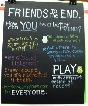 Projectcornerstoneorg Friends To The End Poster Idea Bring Your Class