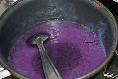 Mi Diversión en la cocina: Tarta Mousse de Caramelos Violetas