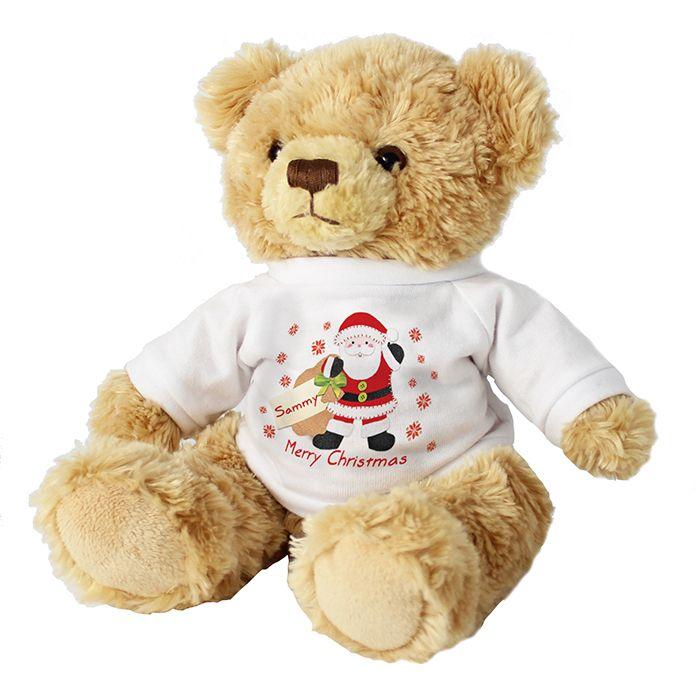 Felt Stitch Santa Teddy - Christmas Gifts
