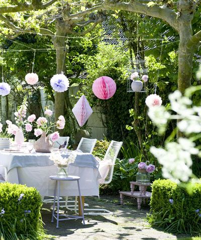 Buitenleven | Feest Styling | Zomers tuinfeest