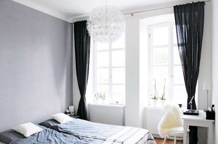 Bydlení podle Ma Maison Blanche: Nebojte se černé