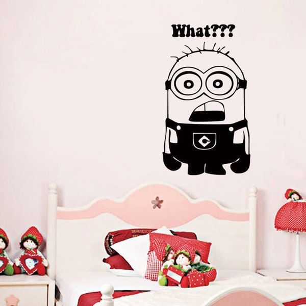 Minion Pattern Wall Stickers For Kids Room Part 95