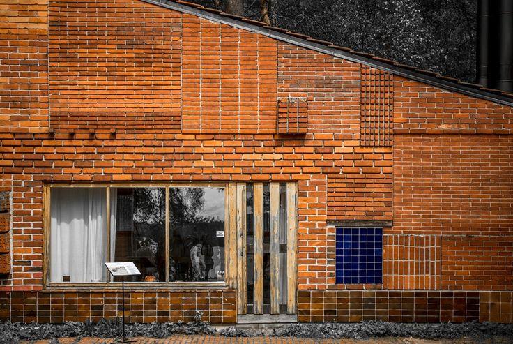 brick, Aalto summer house, Muuratsalo, Alvar Aalto, 1953