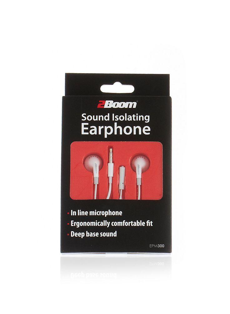Rainbow Shops Sound Isolating Headphones $3.99