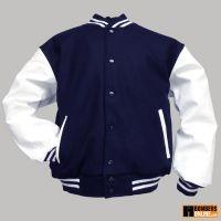 college jacket, back againLiving Families, Vintage Living