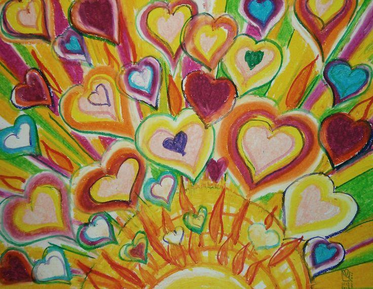 Le Pouvoir De L'Amour | The Power Of Love 11x14 | 27.9 x 35.5 environ  Papier Canson sans acide  Canson Paper acid free  98Lb | 160g