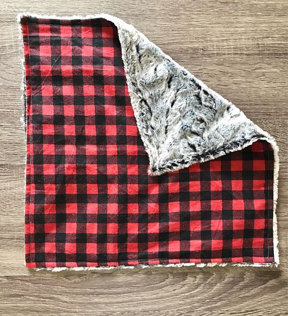 Rustic Adventure Blanket Personalized Baby Boys Blanket Security Blanket Baby Blanket Baby Gift Adventure Blanket Arrows Quote Buffalo Plaid Baby Blanket Baby Boy Blankets Blue Baby Blanket