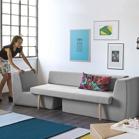 Designer Fabrizio Simonetti Has Created Sofista For Italian Furniture Brand  Formabilio. It Is A Modular And Stackable Sofa Ideal For Small Living Rooms  And ...